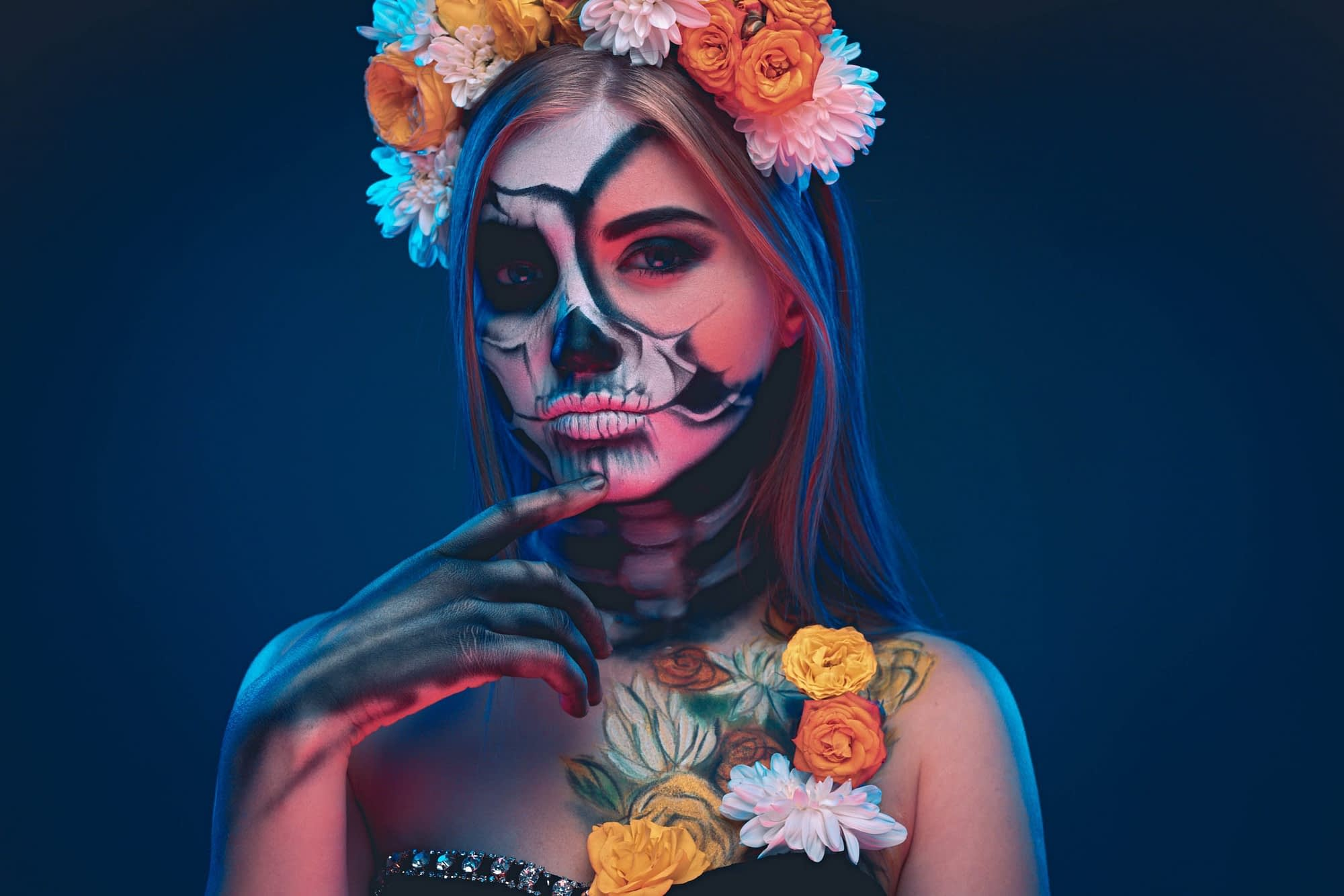 maquillarse para carnaval