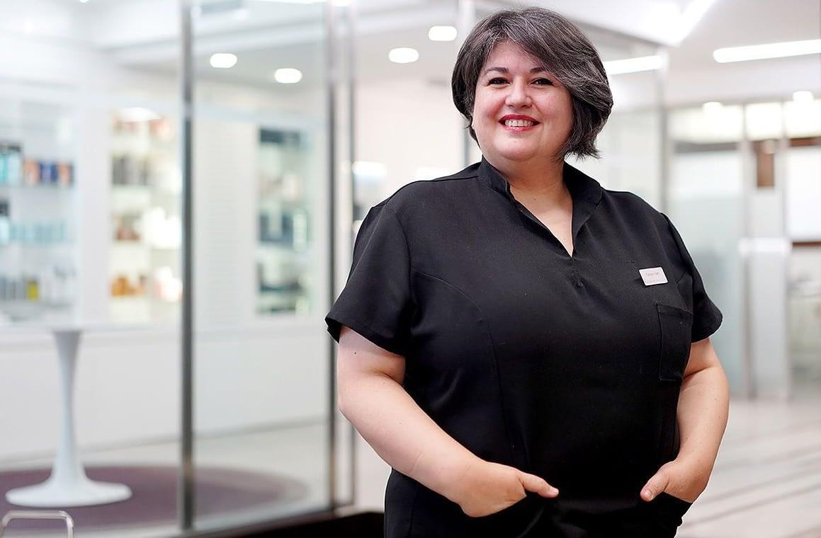 Carmen Juan: Técnico de Estética especialista facial