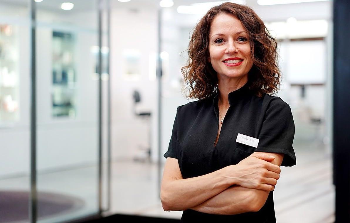 Cristina Charro: Técnico de Estética especialista corporal y Depilación láser