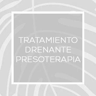 TRATAMIENTO DRENANTE PRESOTERAPIA